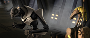 Grievous and OOM-1