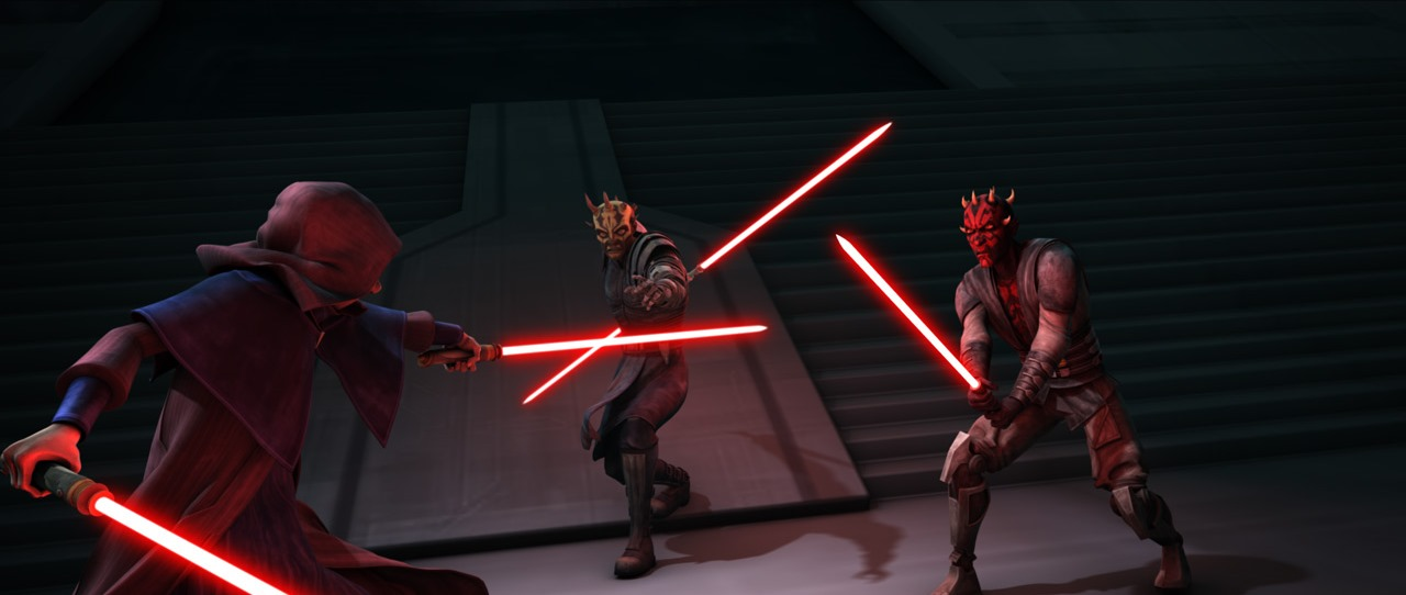 Image result for darth maul clone wars first appearance