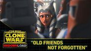 "Clone Wars Download - ""Old Friends Not Forgotten"""