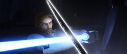 Obi-Wan vs Pre Vizsla - TMP