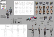 609 Tech full character illustration