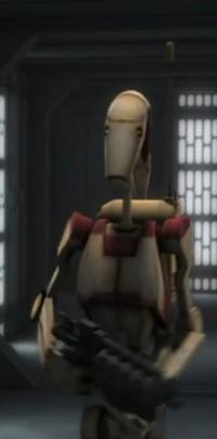 Security battle droid cw