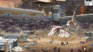 623 The Republic base on Ord Mantell concept art