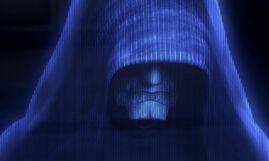 Palpatine Order 66 hologram