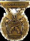 LAPD-Expert-Marksmanship-Badge