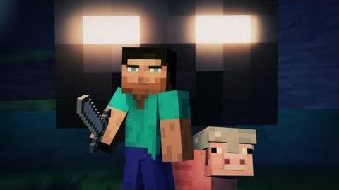 """Cube Land"" - A Minecraft Music Video - Original Song by Laura Shigihara (PvZ Composer)"