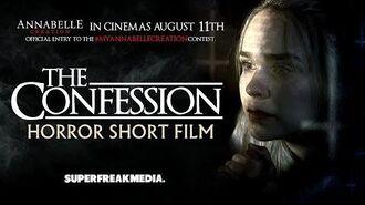 MyAnnabelleCreation UK WINNER - The Confession Horror Short Film