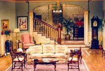 Cosby show living room