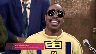 Stevie Wonder on The Cosby Show