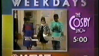 WSAZ Cosby Show promo, 1989