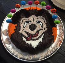 Creature carl cake