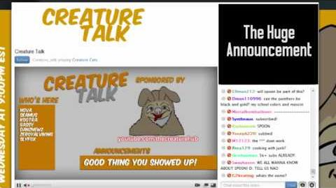 The HUGE Announcement During Last night's Creature Talk