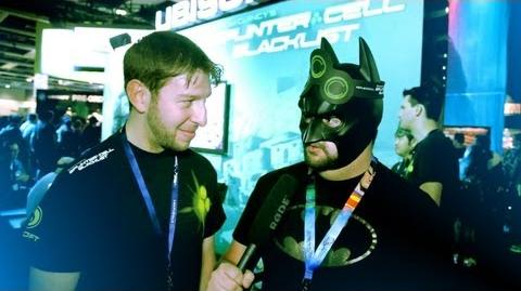 "BatDanz ""Splinter Cell Blacklist"" Interview (PAX Prime 2012)"