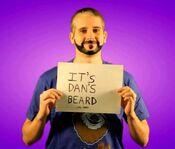 Seamus copying Dan's beard (Copying PSA)