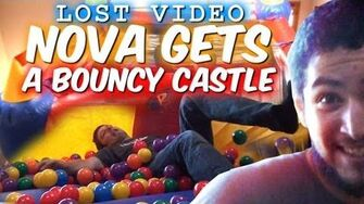 Nova Gets A Bouncy Castle (LOST VIDEO)