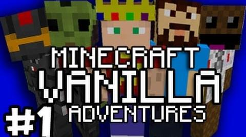Minecraft Vanilla Adventures w The Creatures - Part 1 Failed Pep Talk (Live Commentary)
