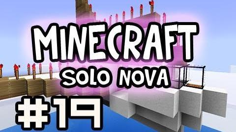 Minecraft Solo Air Canada Down Survival - Burned Out w Nova Ep.19 (Singleplayer Survival)