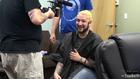 James blond hair
