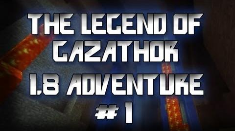 The Legend Of Gazathor Minecraft 1.8 Adventure w Gassy, Kootra, and Danz
