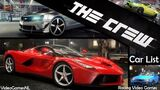 The Crew Car List Part 1 & Customization All Cars Revealed PS4 Xbox One PC