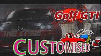 The Crew Volkswagen Golf GTI Customisation & Gameplay