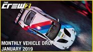 The Crew 2 January Vehicle Drop Trailer Ubisoft NA