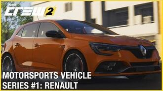 The Crew 2 RENAULT SPORT Megane R.S. 2018 - Motorsports Vehicle Series 1 Gameplay Ubisoft NA