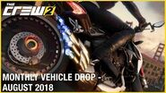 The Crew 2 August Vehicle Drop Trailer Ubisoft NA