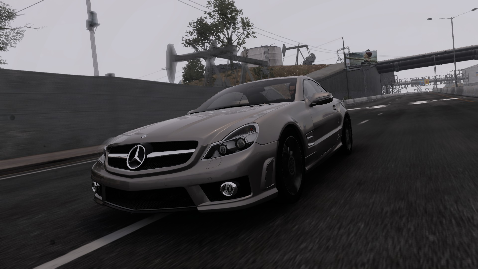 Mercedes benz sl 63 amg r230 the crew wiki fandom for Lb mercedes benz