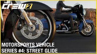 The Crew 2 Harley Davidson Street Glide - Motorsports Vehicle Series 4 Gameplay Ubisoft NA
