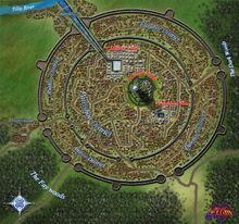 Map of Ezran City