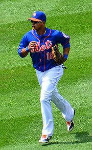 Juan Lagares on April 28, 2013