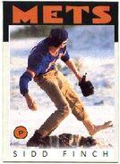 Sidd Finch 1986 Mets