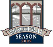 Citi field 2009 cap logo