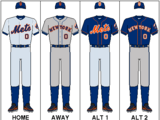 Logos and uniforms of the New York Mets