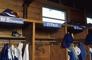 Mets lockers