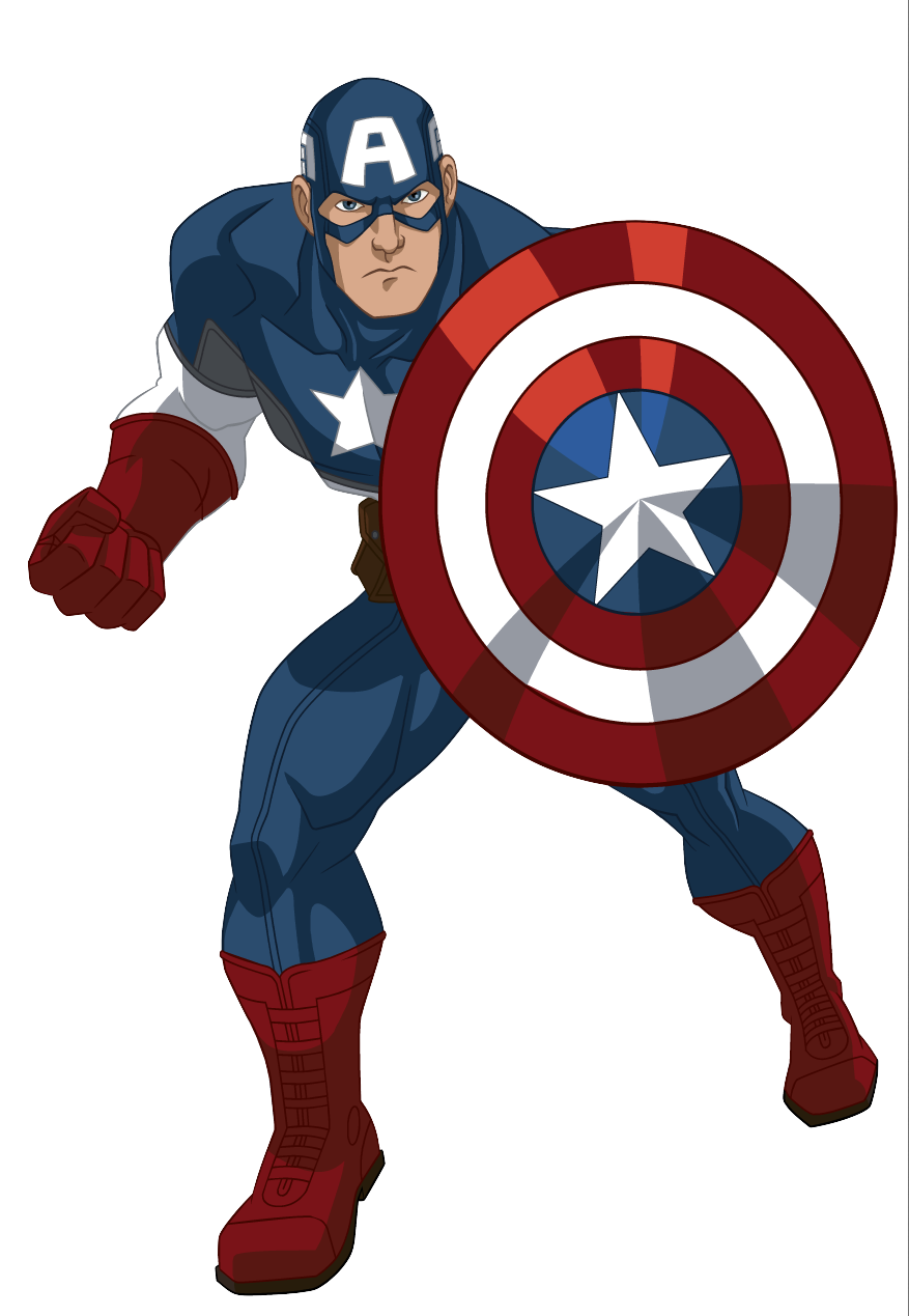Image  Captain America Cappng  Ultimate SpiderMan Animated