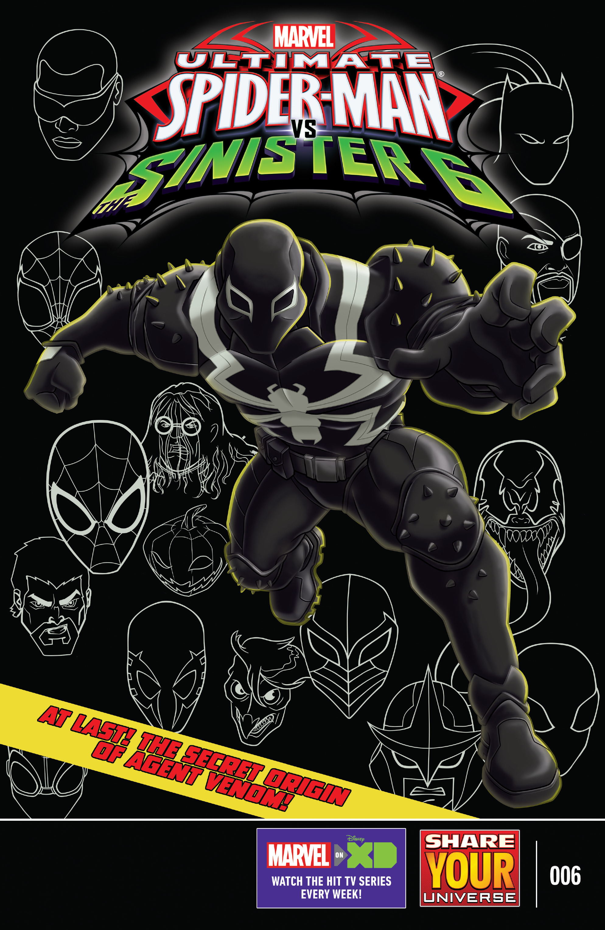 marvel universe: ultimate spider-man vs the sinister 6 - agent venom