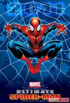 Ulitmate Spider-Man 2011 promo image with Kitty Pryde as Shroud