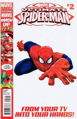 Ultimate Spider-Man Issue 2 Cover