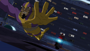 Batroc chased by Spider-Man