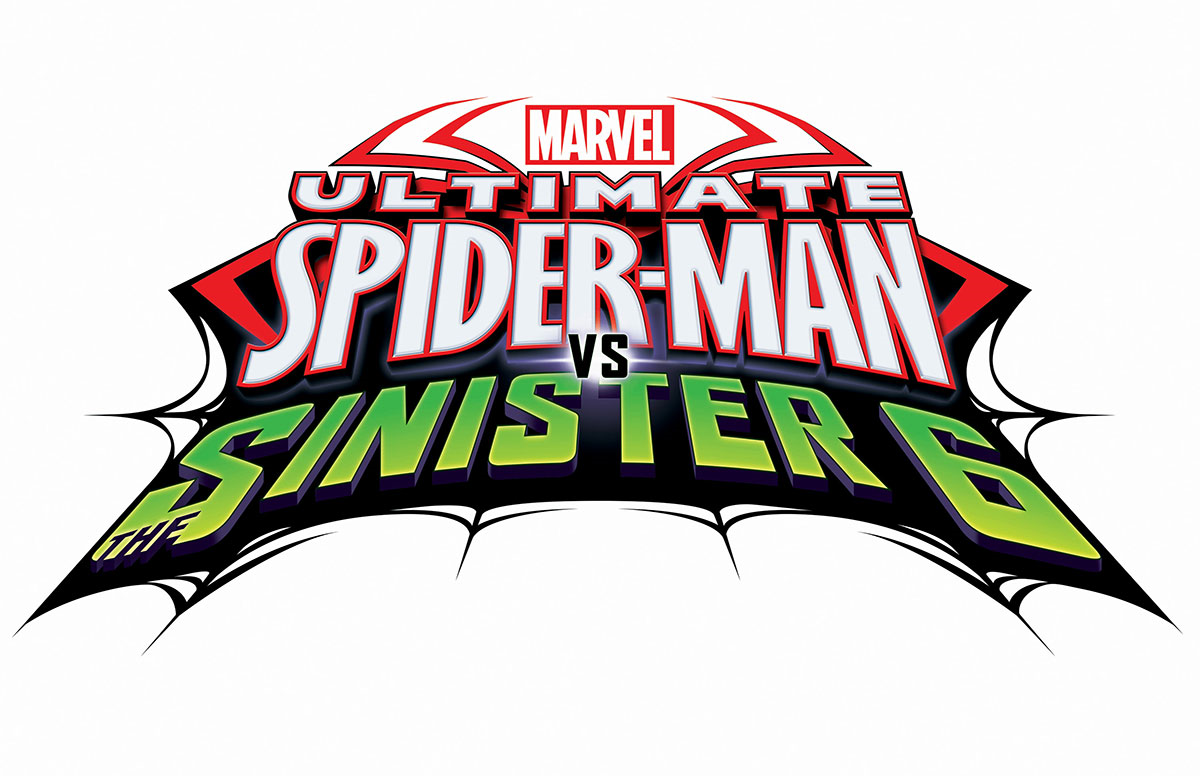 image ultimate spider man vs the sinister 6 logo png ultimate rh thedailybugle wikia com spiderman 3 coloring pages online spider man 3 gomovies