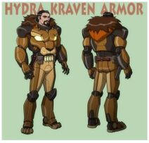 Usm kraven the hunter in hydra armor by jerome k moore-dcgpdri