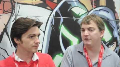 SDCC 2011 Drake Bell and Ultimate Spider-Man