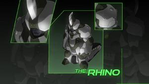 Armoured Rhino