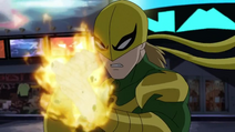 Iron Fist face Chulk