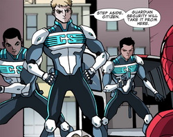 Guardian Security (Earth-12041) from Ultimate Spider-Man Infinite Comic Vol 1 15 0001