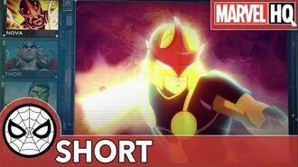 S.H.I.E.L.D. Report Nova Fury Files - Nova