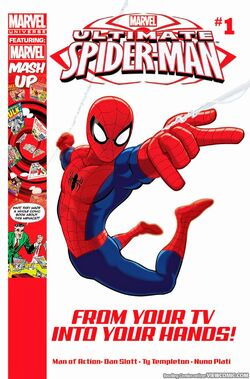 Ultimate Spider-Man Issue 1 Cover