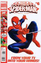 Ultimate Spider-Man Issue 6 Cover